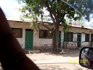 My first glimpse of Motel Juba.