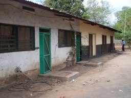 Our motel in Juba, the capital of South Sudan.